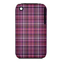 Pink Plaid Iphone 3s/3gs