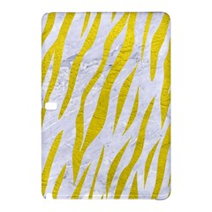 Skin3 White Marble & Yellow Leather (r)skin3 White Marble & Yellow Leather (r) Samsung Galaxy Tab Pro 12 2 Hardshell Case