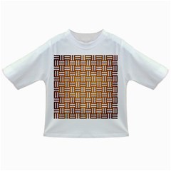 Woven1 White Marble & Yellow Grunge Infant/toddler T Shirts