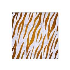 Skin3 White Marble & Yellow Grunge (r) Satin Bandana Scarf