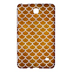 Scales1 White Marble & Yellow Grunge Samsung Galaxy Tab 4 (7 ) Hardshell Case