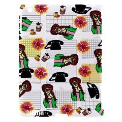 Office Girl Pattern Apple Ipad 3/4 Hardshell Case (compatible With Smart Cover)