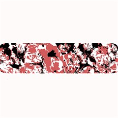 Textured Floral Collage Large Bar Mats