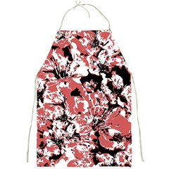 Textured Floral Collage Full Print Aprons