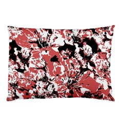 Textured Floral Collage Pillow Case (two Sides)