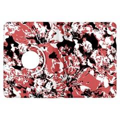 Textured Floral Collage Kindle Fire Hdx Flip 360 Case