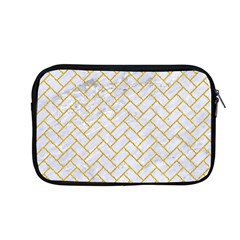 Brick2 White Marble & Yellow Denim (r) Apple Macbook Pro 13  Zipper Case