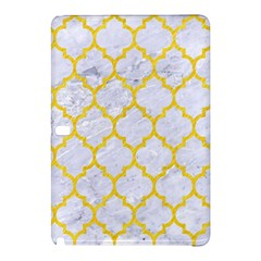 Tile1 White Marble & Yellow Colored Pencil (r) Samsung Galaxy Tab Pro 12 2 Hardshell Case