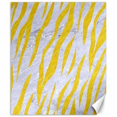 Skin3 White Marble & Yellow Colored Pencil (r) Canvas 20  X 24