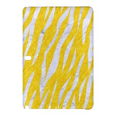 Skin3 White Marble & Yellow Colored Pencil Samsung Galaxy Tab Pro 12 2 Hardshell Case