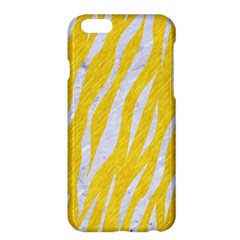 Skin3 White Marble & Yellow Colored Pencil Apple Iphone 6 Plus/6s Plus Hardshell Case