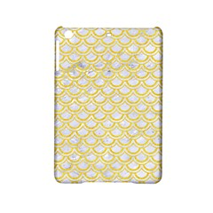 Scales2 White Marble & Yellow Colored Pencil (r) Ipad Mini 2 Hardshell Cases