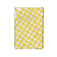 Houndstooth2 White Marble & Yellow Colored Pencil Ipad Mini 2 Hardshell Cases