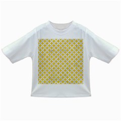 Circles3 White Marble & Yellow Colored Pencil Infant/toddler T Shirts