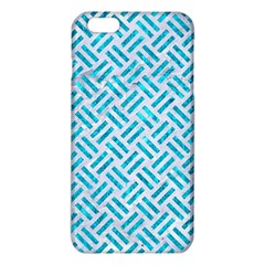 Woven2 White Marble & Turquoise Marble (r) Iphone 6 Plus/6s Plus Tpu Case