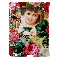 Little Girl Victorian Collage Apple Ipad 3/4 Hardshell Case (compatible With Smart Cover)