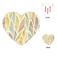 Decorative  Seamless Pattern Playing Cards (heart)