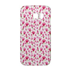 Watercolor Spring Flowers Pattern Galaxy S6 Edge
