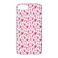 Watercolor Spring Flowers Pattern Apple Iphone 7 Plus Hardshell Case