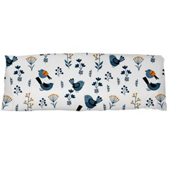 Spring Flowers And Birds Pattern Body Pillow Case Dakimakura (two Sides)