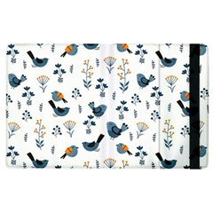 Spring Flowers And Birds Pattern Apple Ipad 3/4 Flip Case