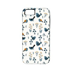 Spring Flowers And Birds Pattern Apple Iphone 5 Classic Hardshell Case (pc+silicone)