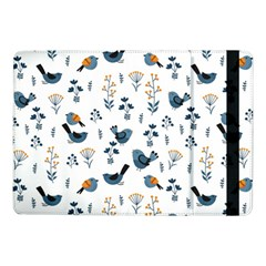 Spring Flowers And Birds Pattern Samsung Galaxy Tab Pro 10 1  Flip Case