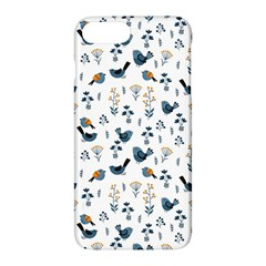 Spring Flowers And Birds Pattern Apple Iphone 7 Plus Hardshell Case