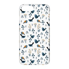 Spring Flowers And Birds Pattern Apple Iphone 8 Plus Hardshell Case