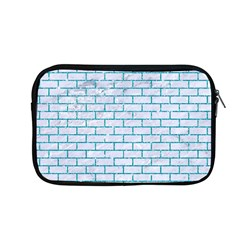 Brick1 White Marble & Turquoise Glitter (r) Apple Macbook Pro 13  Zipper Case