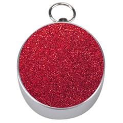 Red  Glitter Silver Compasses