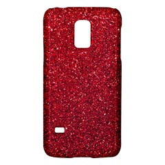 Red  Glitter Galaxy S5 Mini