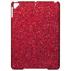 Red  Glitter Apple Ipad Pro 9 7   Hardshell Case