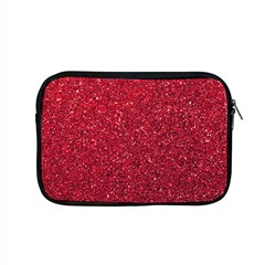 Red  Glitter Apple Macbook Pro 15  Zipper Case