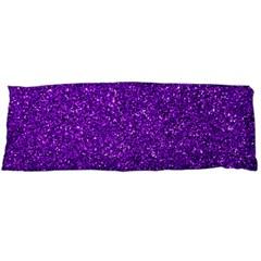 Purple  Glitter Body Pillow Case Dakimakura (two Sides)