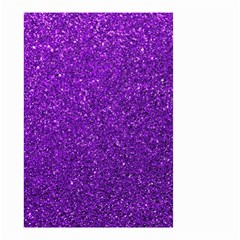 Purple  Glitter Small Garden Flag (two Sides)