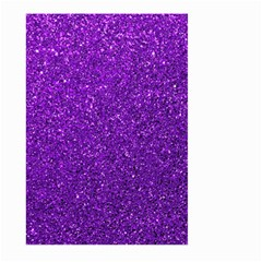 Purple  Glitter Large Garden Flag (two Sides)