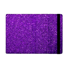 Purple  Glitter Ipad Mini 2 Flip Cases