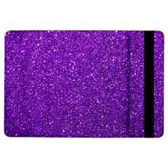 Purple  Glitter Ipad Air 2 Flip