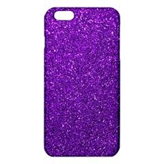 Purple  Glitter Iphone 6 Plus/6s Plus Tpu Case