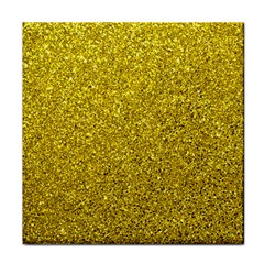 Gold  Glitter Tile Coasters