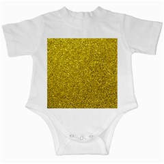 Gold  Glitter Infant Creepers