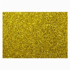 Gold  Glitter Large Glasses Cloth