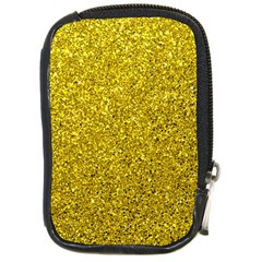 Gold  Glitter Compact Camera Cases