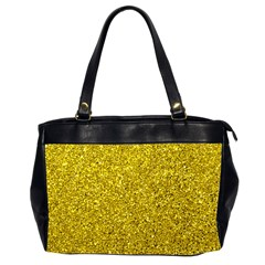 Gold  Glitter Office Handbags (2 Sides)