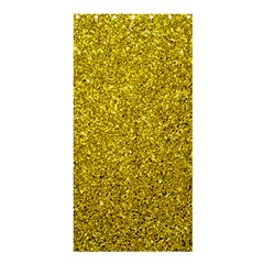 Gold  Glitter Shower Curtain 36  X 72  (stall)