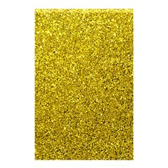 Gold  Glitter Shower Curtain 48  X 72  (small)