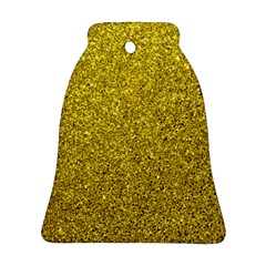 Gold  Glitter Ornament (bell)