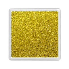 Gold  Glitter Memory Card Reader (square)