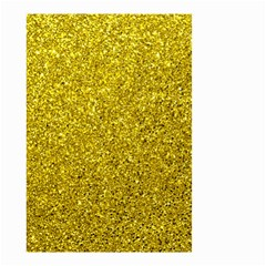 Gold  Glitter Small Garden Flag (two Sides)